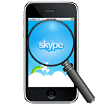 Skype analyzer for cell phone forensics